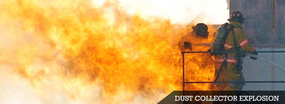 Dust collector explosion